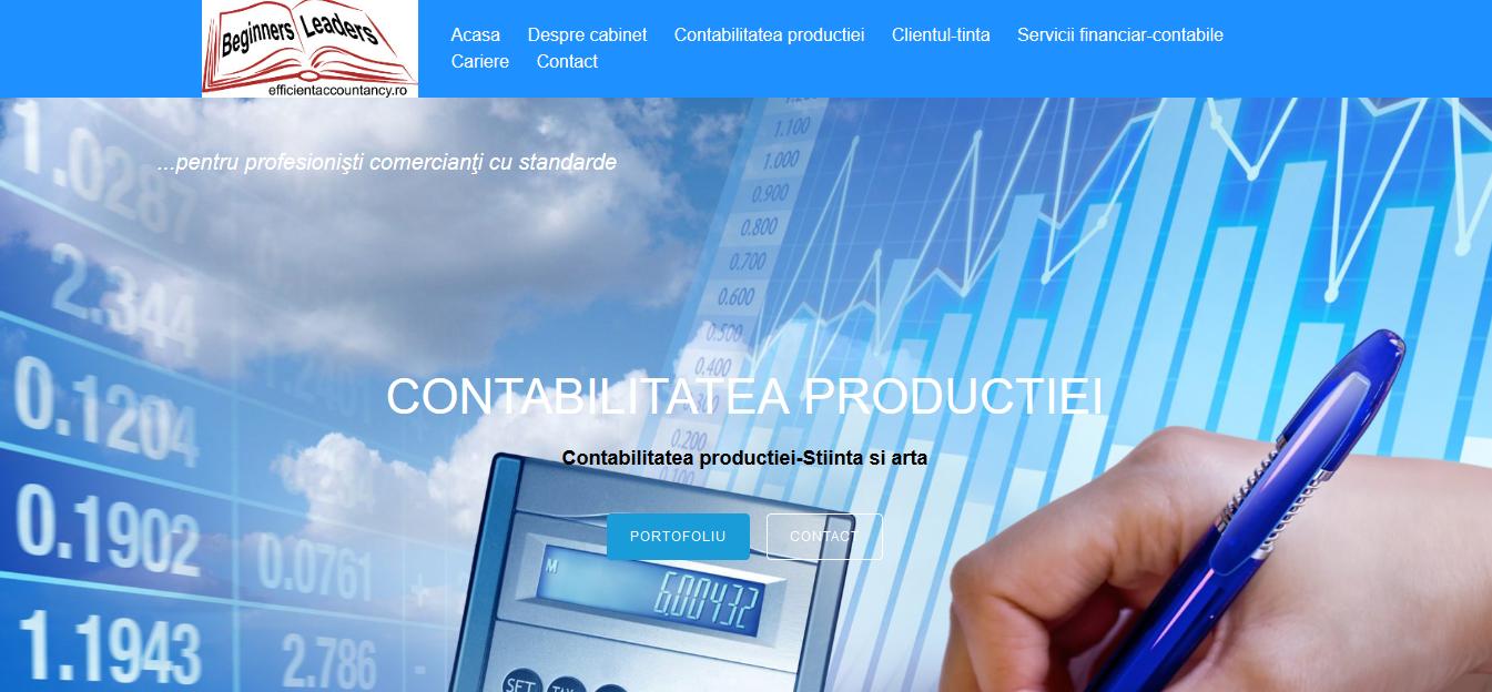 creare site contabilitate