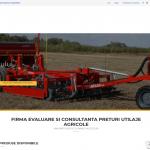 creare site vanzare accesorii agricultura
